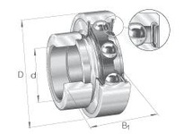 INA RAE40NPP-FA106 Radial insert ball bearing