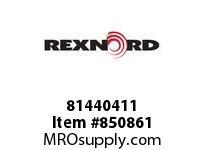 REXNORD 81440411 WHF8505-18 WHF8505 18 INCH RUBBERTOP MATTOP CH