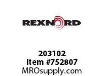 REXNORD 203102 598048 225.S71-8.CPLG STR 316