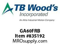 TBWOODS GA60FRB HUB GA6 ROUGH BORE FLEX
