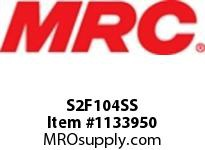 MRC S2F104SS PILLOW BLOCK WASH DOWN