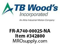 TBWOODS FR-A740-00025-NA CT INV. 1HP(ND) 0.5HP(HD)480V