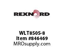 REXNORD WLT8505-8 WLT8505-8 WLT8505 8 INCH WIDE MATTOP CHAIN WI