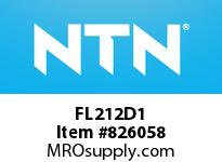 NTN FL212D1 Cast Housing