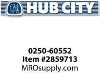 HUB CITY 0250-60552 SSHB2073PK 38.68 143TC KLS Helical-Bevel Drive