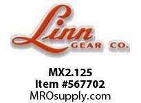 Linn-Gear MX2.125 Q D BUSHING  H1