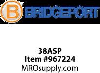 "Bridgeport 38ASP 3/8"" SNAP-IN INSULATED CONNECT"