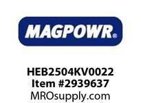 MagPowr HEB2504KV0022 HEB-250 PNEUMATIC BRAKE