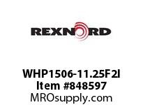 REXNORD WHP1506-11.25F2I WHP1506-11.25 F2 T14PN.75 WHP1506 11.25 INCH WIDE MATTOP CHAI