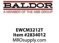BALDOR EWCM3212T 5HP3450RPM3PH60HZ182TCZ3623MO PSBF 230/460 :