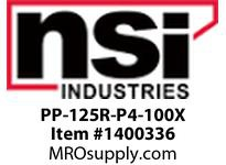 NSI PP-125R-P4-100X PP-125R POOL PANEL WITH P1104-M & 100 WATT 12V/13V TRANSFORMER INSTALLED