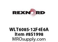 REXNORD WLT6085-12F4E6A LT6085-12 F4 T6P N1.25 LT6085 12 INCH WIDE MATTOP CHAIN WI