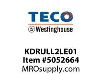 Teco-Westinghouse KDRULL2LE01 LINE REACTOR 3% IMPEDANCE 460V UL TYPE 1 ENCLOSURE