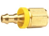 "DIXON 2740502C 5/16"" Hose ID x 1/8"" Female NPTF x Push-on Hose Barb Brass Dryseal"