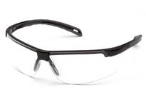 Pyramex SB8610DT Black Frame/Clear Anti-Fog Lens