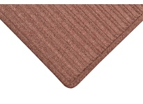 NoTrax 161S0035BD 161 Barrier Rib 3X5 Burgundy Barrier Rib is a unique yet highly functional indoor entrance mat with a molded dual-ridge cross-rib pattern to maximize the scraping and drying process. A raised rubber perimeter on all four s