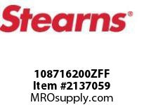 STEARNS 108716200ZFF BRAKE ASSY-STD-PILOT BORE 284556