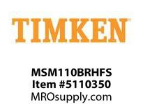 TIMKEN MSM110BRHFS Split CRB Housed Unit Assembly