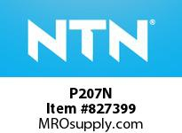 NTN P207N Bearing Units - Cast Housing