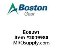 Boston Gear E00291 SF842BR-20K-B7-M HEL/WORM RED.HOLLOW