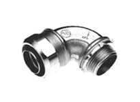 "Bridgeport 472-SLTG 1"" FE 90 degree liquid tight connector with ground lug"