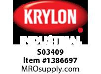 KRY S03409 Industrial Quik-Mark WB Inverted Marking Paint Fluorescent Red Krylon 16oz. (12)