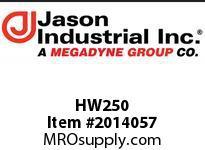 Jason HW250 RUBBER GASKET 2 1/2