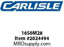 Carlisle 1650M28 Poly Rib M