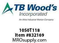 TBWOODS 1050T118 1050TX1-1/8 G-FLEX HUB
