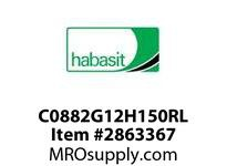 "Habasit C0882G12H150RL 882-12T X 1-1/2"" Split Idler Sprocket"