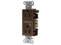 HBL_WDK DR15C1 1/2 CONTROLLED 15A 125V B/S DECO BR