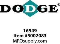 "DODGE 016549 RAPTOR 100HCBM 2-15/16"" COUPLINGS/FLEX CLUTCH"