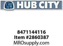HUB CITY 8471144116 SCREW SOCKET CAPISO12.9M12X1.75X40 Service Part