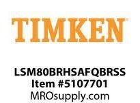 TIMKEN LSM80BRHSAFQBRSS Split CRB Housed Unit Assembly