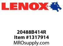 Lenox 20488B414R RECIPS-B414R 4 X3/4 X035X14 - 100X20X09X18