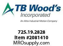 TBWOODS 725.19.2828 MULTI-BEAM 19 8MM--8MM