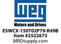 WEG ESWCX-150T02P79-R49B XP FVNR 125HP/460 N79 230/120V Panels