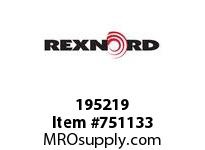 REXNORD 195219 594617 262.S71-8.CPLG RB SD