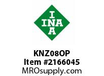 INA KNZ08OP Linear aligning ball bearing
