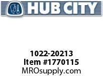 HubCity 1022-20213 KFB2-15/16LT Spherical Flange Block