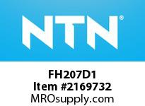 NTN FH207D1 Cast Housing