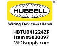 HBL_WDK HBTU041224ZP WBTRAYUNFLR4^Hx12^Wx24^LELECTOZ INCR