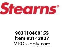 STEARNS 90311040015S TAPER BUSHING 2-3/8 BORE 8023086