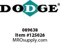 DODGE 089638 HD-300X12-TUFR-SSS