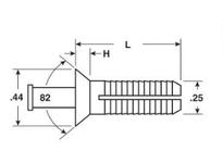 System Plast VG-750-20 VG-750-20 RAIL BRACKETS