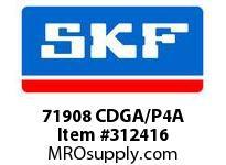 SKF-Bearing 71908 CDGA/P4A