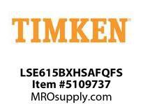 TIMKEN LSE615BXHSAFQFS Split CRB Housed Unit Assembly