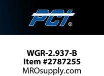PCI WGR-2.937-B WIRE GUIDE ROLLER STUD STYLE BEARING WIRE GUIDE .242 GROOVE WIDTH