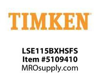 TIMKEN LSE115BXHSFS Split CRB Housed Unit Assembly