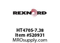 REXNORD HT4705-7.38 HT4705-7.375 148413